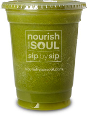 nourish your soul green glow smoothie